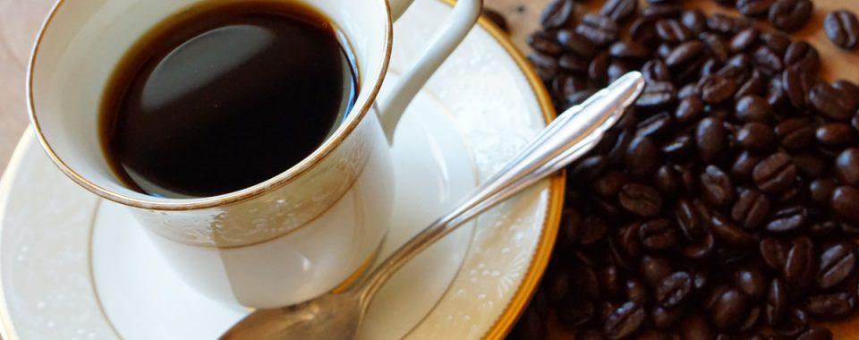 長楽館のコーヒー