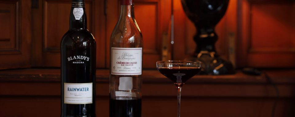 【MADEIRA】Seasonal Cocktail / マデイラワインのカクテル【9月~】